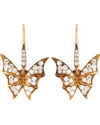 Stephen Webster - Diamond Wing Earrings - Lyst