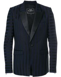 Unconditional - Striped Sheen Blazer - Lyst