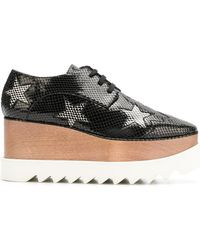 Stella McCartney - Silver Stars Elyse Shoes - Lyst