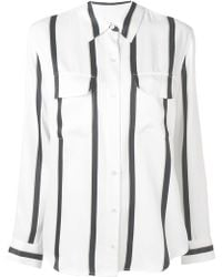 Equipment - Striped Blouse - Lyst
