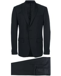 Givenchy Tonal Check Two Piece Suit