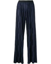 Stefano Mortari - Pleated Wide-leg Trousers - Lyst