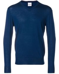 Aspesi Classic V-neck - Blue