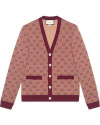 Gucci Vest Met Jacquard Dessin
