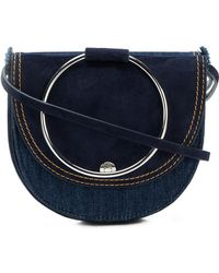 Theory - Foldover Satchel Bag - Lyst