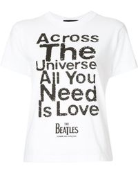 Play Comme des Garçons - All You Need Is Love T-shirt - Lyst
