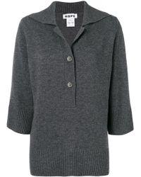Hope - Jersey con cuello con botones - Lyst