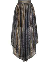 Peter Pilotto - Striped High-waisted Harem Pants - Lyst