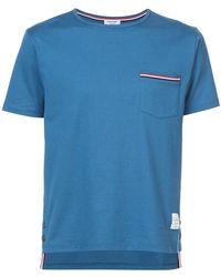 Thom Browne - Pocket T-shirt - Lyst