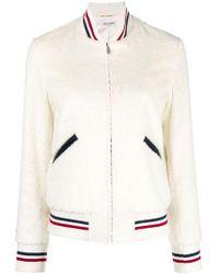 Saint Laurent - Giubbotto Varsity Jacket - Lyst