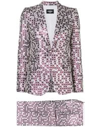 DSquared² - Patterned Two-piece Suit - Lyst