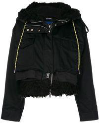DIESEL - W-lotti Hooded Jacket - Lyst