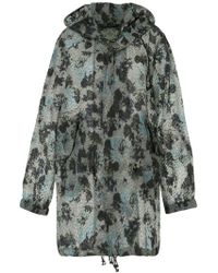 Mr & Mrs Italy - Printed Hooded Coat - Lyst