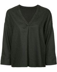 DES PRÉS - Long-sleeve Flared Sweater - Lyst