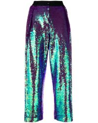 Peter Jensen - Pleated Sequin Trousers - Lyst