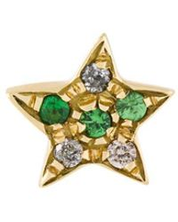Carolina Bucci - 18kt Yellow Gold 'superstellar' Star Stud Earring - Lyst
