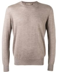 Cruciani - Crew Neck Sweater - Lyst