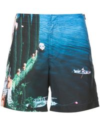 Orlebar Brown - Short Lake Como - Lyst