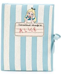Olympia Le-Tan - 'notebook Alice' Clutch - Lyst