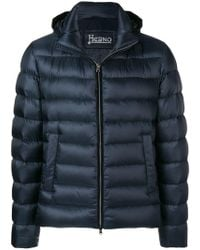 Herno - Padded Zip-up Jacket - Lyst