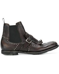Church's - 'Shanghai' Stiefel - Lyst
