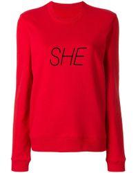 Paco Rabanne - She Sweatshirt - Lyst
