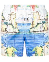 Fefe - Cetara Swim Shorts - Lyst