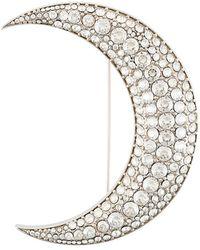 Isabel Marant - Spilla Ricamata 'moon' - Lyst
