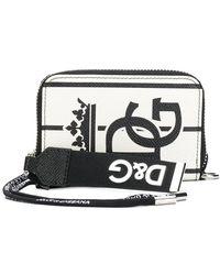 Dolce & Gabbana - Zip-around Printed Wallet - Lyst
