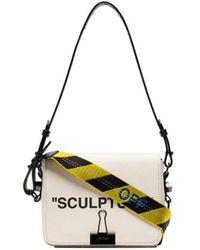 Off-White c/o Virgil Abloh - Cream C/o Virgil Abloh Sculpture Leather Shoulder Bag - Lyst