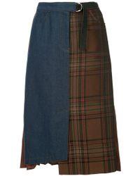 Guild Prime - Asymmetric Printed Skirt - Lyst