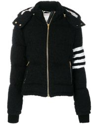 Thom Browne - Padded Hooded Jacket - Lyst