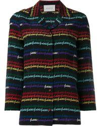 Gucci - Signature Print Pyjama Shirt - Lyst