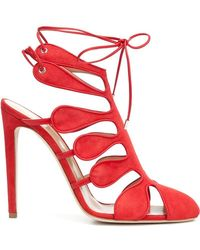 Chloe Gosselin - Calico Strappy Sandals - Lyst