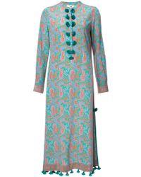 Figue - Paolina Paisley-print Midi Kaftan Dress - Lyst