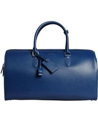 Burberry - London Leather Holdall - Lyst