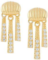 V Jewellery - Priscilla Earrings - Lyst