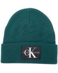 Calvin Klein - Logo Patch Beanie - Lyst