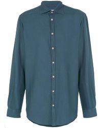 Massimo Alba - Collared Shirt - Lyst