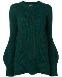 Roberto Collina - Cable Knitted Jumper - Lyst