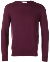 Cruciani - Long-sleeve Fitted Jumper - Lyst