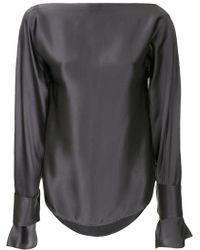 Christopher Esber - Slit Sleeves Blouse - Lyst