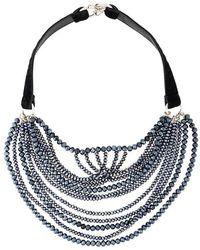 Fabiana Filippi - Multi Strand Beaded Necklace - Lyst