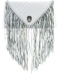 Thomas Wylde - Fringed Quilted Clutch - Lyst