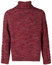Jeckerson - Turtleneck Jumper - Lyst