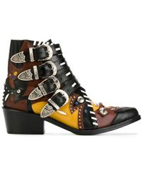 Toga Pulla - Buckle Strap Ankle Boots - Lyst