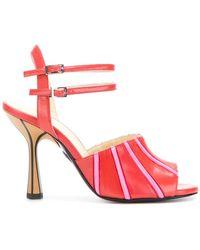 Marni | Contrast Striped Sandals | Lyst