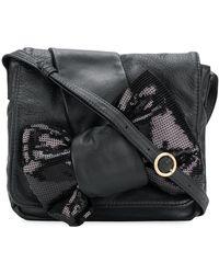 Chloé Grand sac porté épaule à fleurs appliquées oJWfS