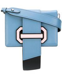 Prada - - Strap Closure Crossbody Bag - Women - Calf Leather - One Size - Lyst