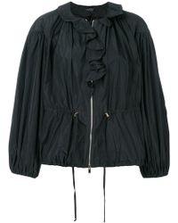 Giambattista Valli - Puff Sleeve Ruffle Front Jacket - Lyst